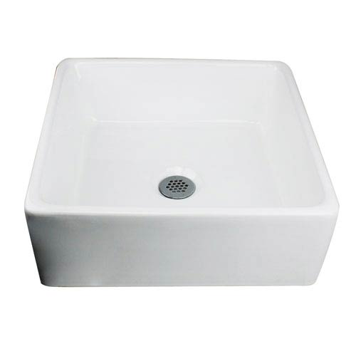 Ordinaire Nantucket Sinks Brant Point White Square Vessel Sink