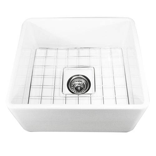 Cape White 20-Inch Fireclay Farmhouse Kitchen Sink