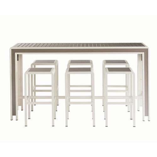 A.R.T. Furniture Cityscapes Outdoor Chrysler BAR Set in BOX