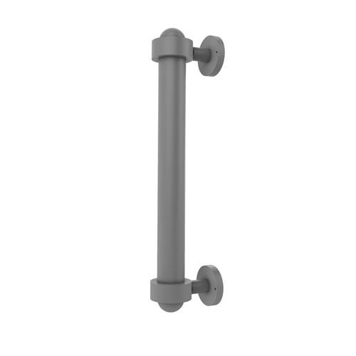 Matte Gray Eight-Inch Door Pull
