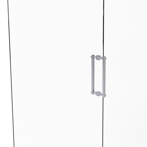 Polished Chrome 12-Inch Back to Back Shower Door Pull