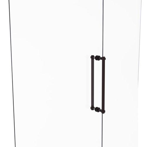 Antique Bronze 18-Inch Back to Back Shower Door Pull