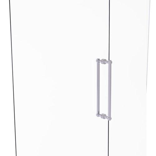 Polished Chrome 18-Inch Back to Back Shower Door Pull