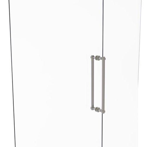 Satin Nickel 18-Inch Back to Back Shower Door Pull