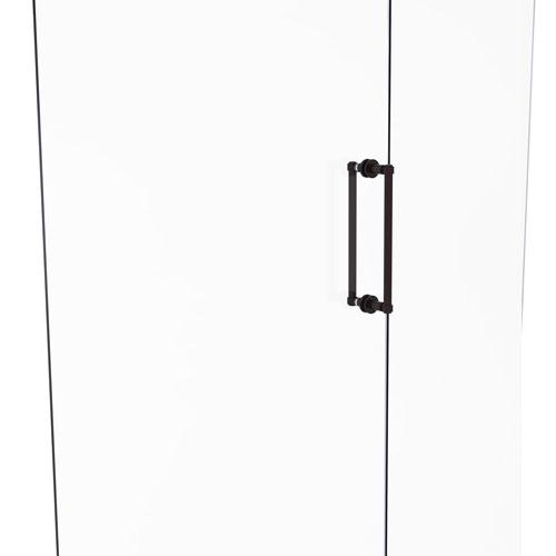 Antique Bronze 12-Inch Back to Back Shower Door Pull
