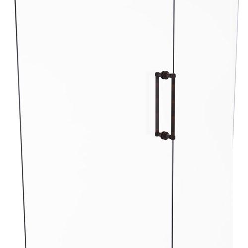 Venetian Bronze 12-Inch Back to Back Shower Door Pull