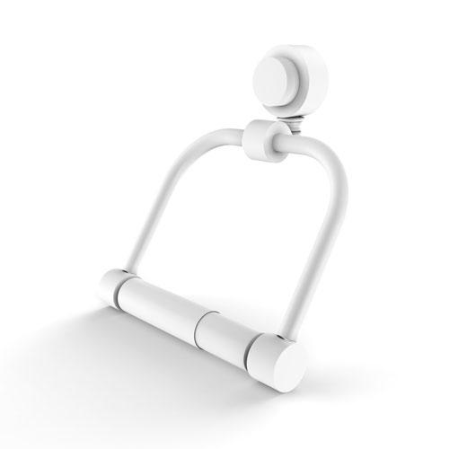 Venus Matte White Six-Inch Two-Post Toilet Tissue Holder