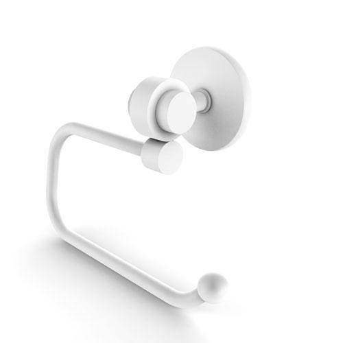 Satellite Orbit Two Matte White Three-Inch Toilet Tissue Holder