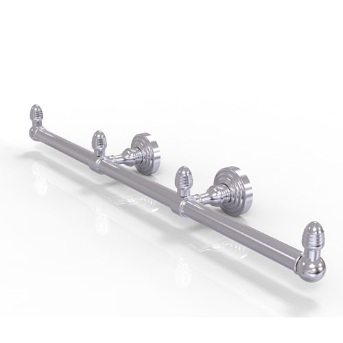 Waverly Place Satin Chrome Four-Inch Three Arm Guest Towel Holder