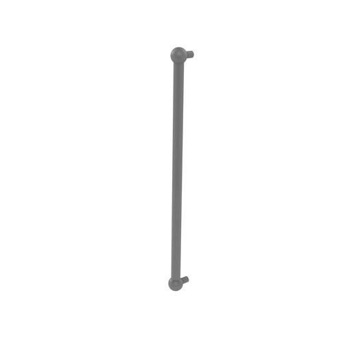Matte Gray 18-Inch Refrigerator Pull