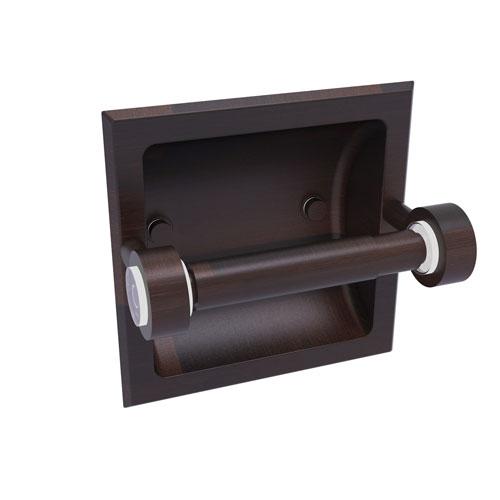 Clearview Venetian Bronze Six-Inch Recessed Toilet Paper Holder