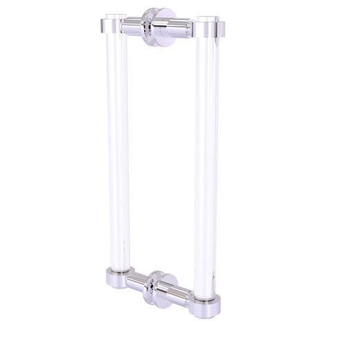 Clearview Polished Chrome 12-Inch Back to Back Shower Door Pull
