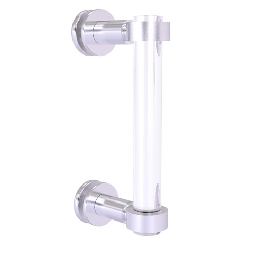 Clearview Satin Chrome Eight-Inch Single Side Shower Door Pull