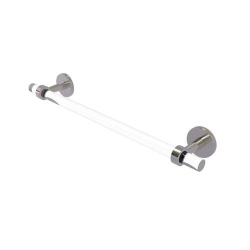 Clearview Satin Nickel 24-Inch Towel Bar