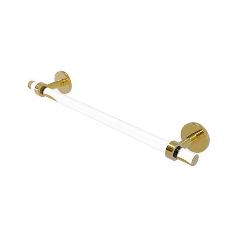 Clearview Polished Brass 36-Inch Towel Bar