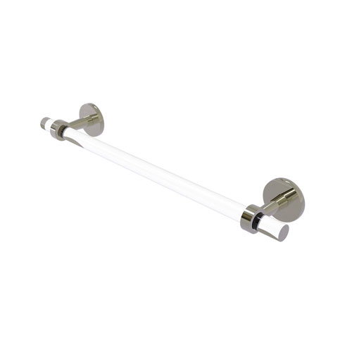 Clearview Polished Nickel 36-Inch Towel Bar