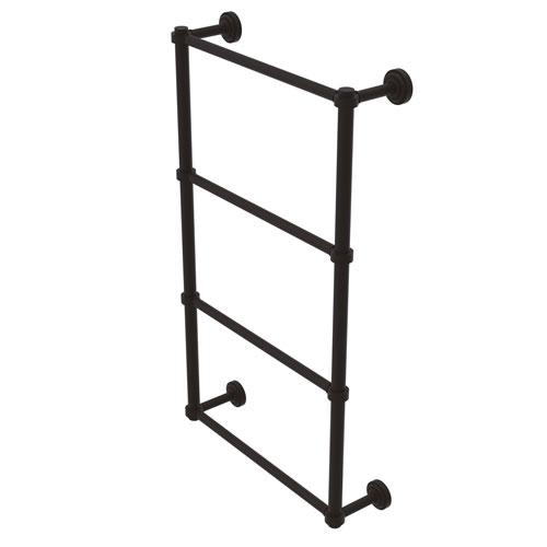Dottingham Oil Rubbed Bronze 24-Inch Four-Tier Ladder Towel Bar