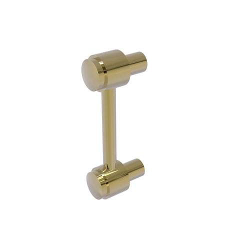 Unlacquered Brass Three-Inch Cabinet Pull