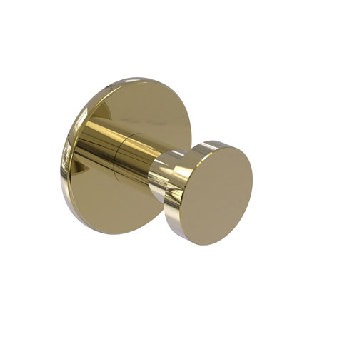 Fresno Unlacquered Brass Two-Inch Robe Hook