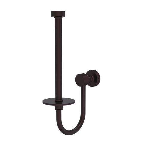 Foxtrot Antique Bronze Five-Inch Upright Toilet Tissue Holder