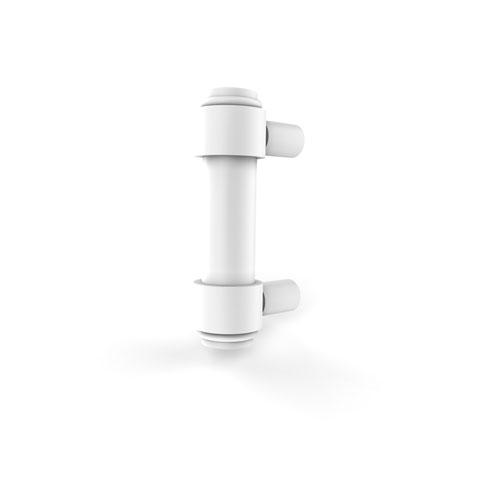 Matte White Three-Inch Cabinet Pull