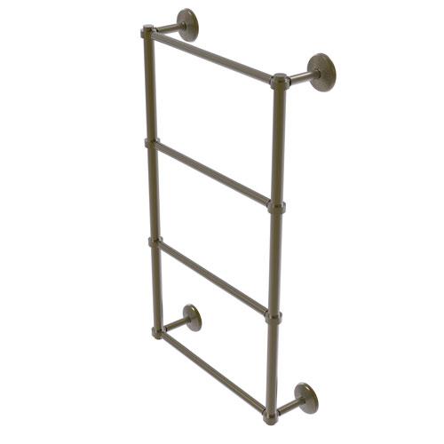 Monte Carlo Antique Brass 24-Inch Four-Tier Ladder Towel Bar