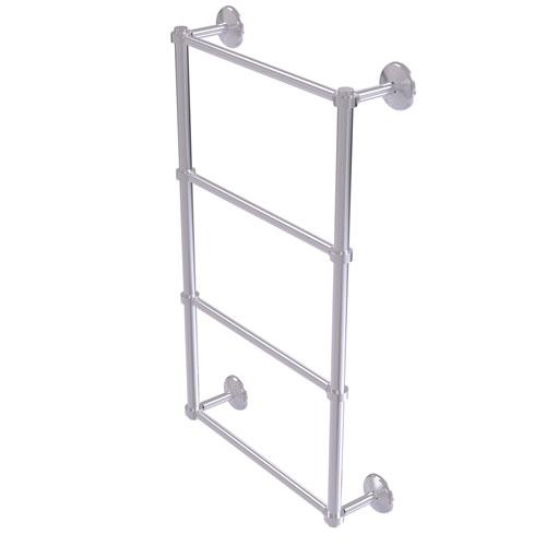 Monte Carlo Satin Chrome 30-Inch Four-Tier Ladder Towel Bar