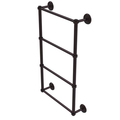 Monte Carlo Antique Bronze 36-Inch Four-Tier Ladder Towel Bar