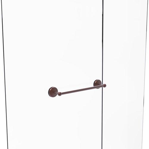 Monte Carlo Antique Copper 18-Inch Shower Door Towel Bar