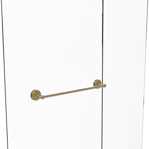 Monte Carlo Satin Brass 24-Inch Shower Door Towel Bar