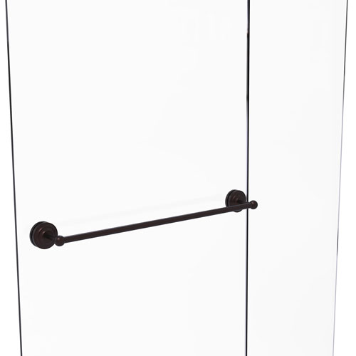Monte Carlo Antique Bronze 30-Inch Shower Door Towel Bar