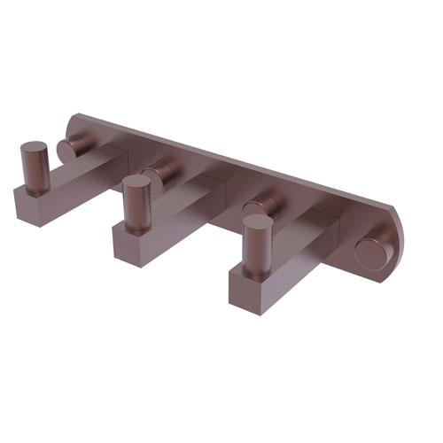 Montero Antique Copper Three-Inch Three-Position Multi Hook