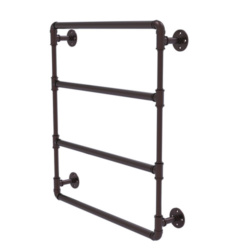Pipeline Antique Bronze 36-Inch Wall Mounted Ladder Towel Bar