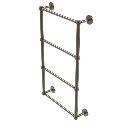 Prestige Skyline Antique Brass 24-Inch Four-Tier Ladder Towel Bar