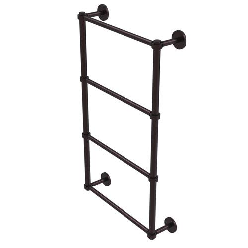 Prestige Skyline Antique Bronze 24-Inch Four-Tier Ladder Towel Bar