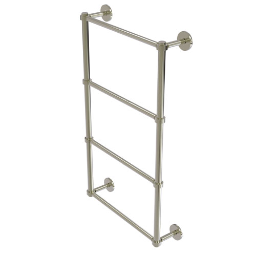 Prestige Skyline Polished Nickel 30-Inch Four-Tier Ladder Towel Bar