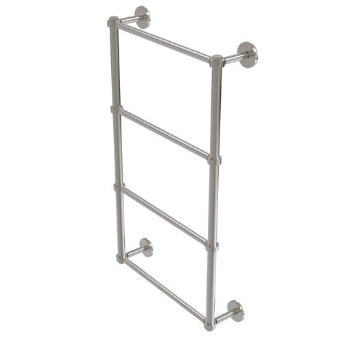 Prestige Skyline Satin Nickel 36-Inch Four-Tier Ladder Towel Bar