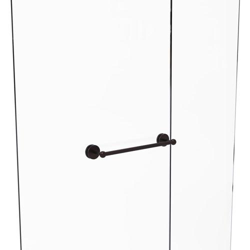 Prestige Skyline Brushed Bronze 18-Inch Shower Door Towel Bar