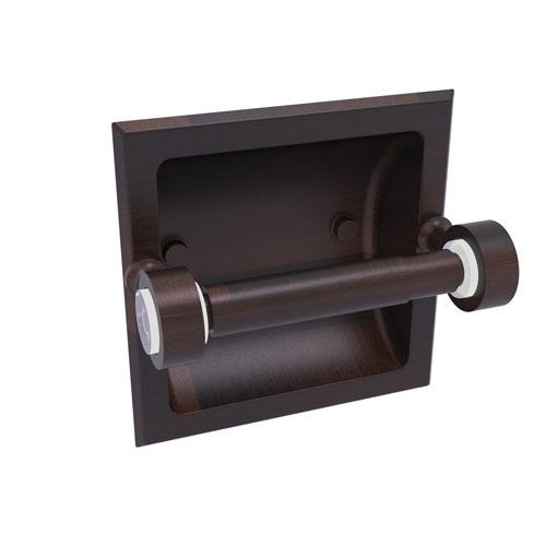 Pacific Grove Venetian Bronze Six-Inch Recessed Toilet Paper Holder