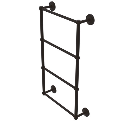 Prestige Regal Oil Rubbed Bronze 36-Inch Four-Tier Ladder Towel Bar with Twisted Detail