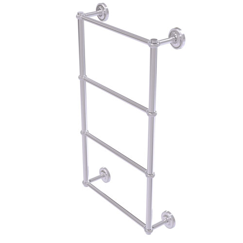 Prestige Regal Satin Chrome 36-Inch Four-Tier Ladder Towel Bar with Twisted Detail