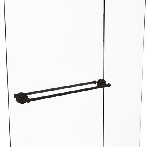 Prestige Regal Oil Rubbed Bronze 30-Inch Back to Back Shower Door Towel Bar