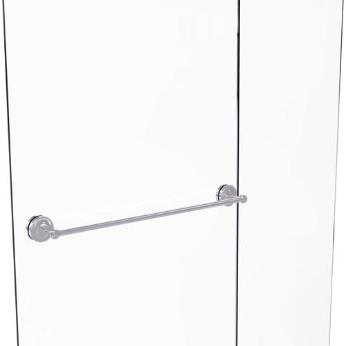 Prestige Regal Satin Chrome 30-Inch Shower Door Towel Bar