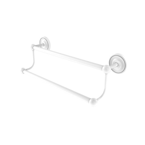 Prestige Regal Matte White 36-Inch Double Towel Bar