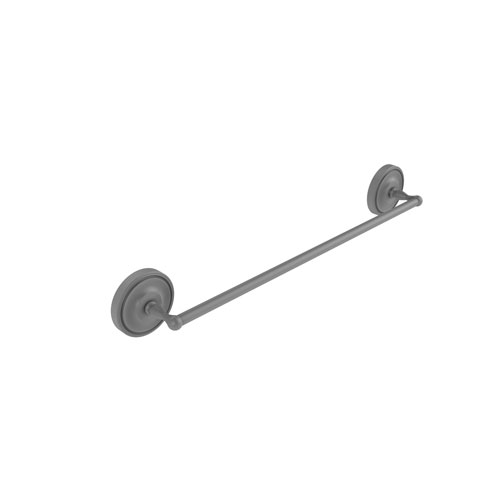 Regal Matte Gray 18-Inch Towel Bar
