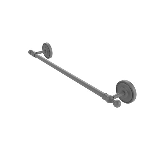 Regal Matte Gray 24-Inch Towel Bar