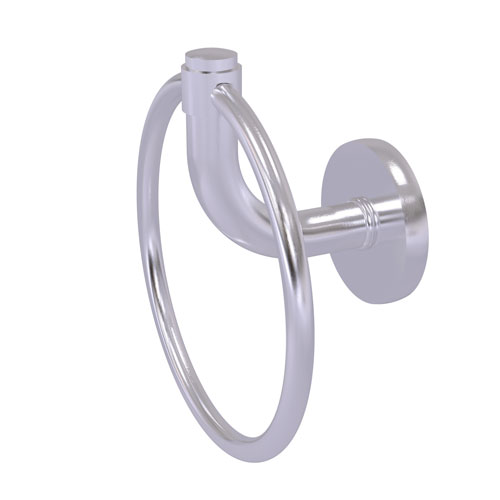 Remi Satin Chrome Six-Inch Towel Ring