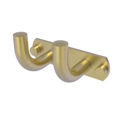 Remi Satin Brass Three-Inch Two-Position Multi Hook