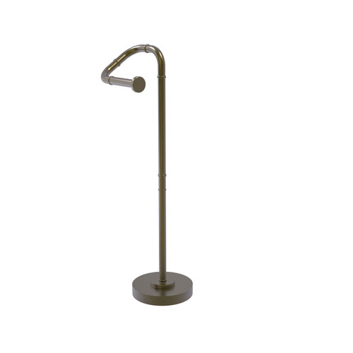 Remi Antique Brass Eight-Inch Free Standing Toilet Tissue Stand