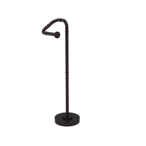 Remi Antique Bronze Eight-Inch Free Standing Toilet Tissue Stand